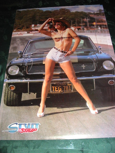 Ford Shelby Truck >> MUSTANG SHELBY GT350 Hertz POSTER with topless model ...