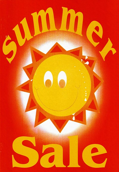 sale summer sale for sale signs double sided x5 sign summer